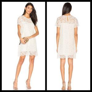 CUPCAKES & CASHMERE Shea Lace Sheath Dress Sz XS
